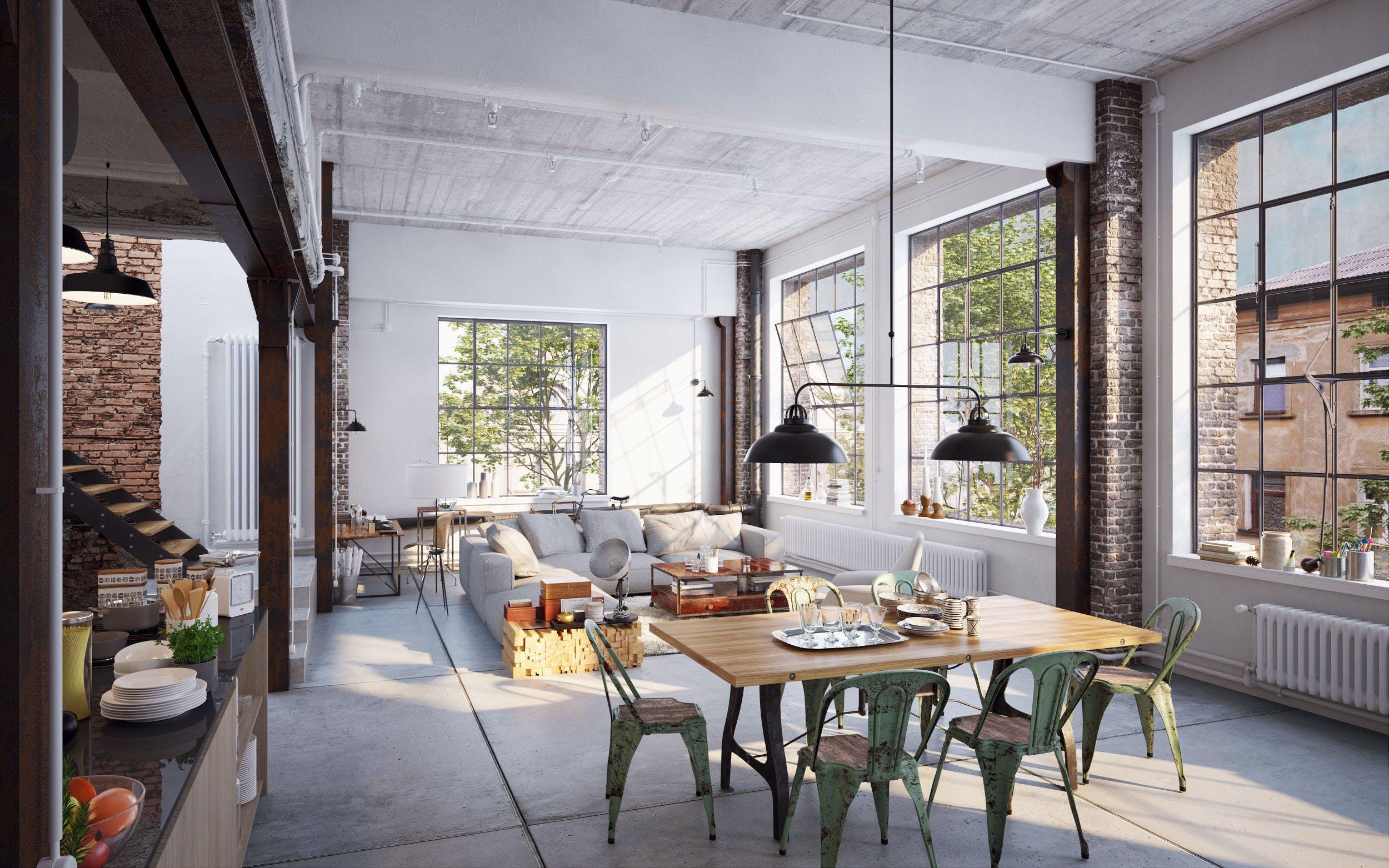 Image of shutterstock 638582218 1 in Industrial style in interior design - Cosentino