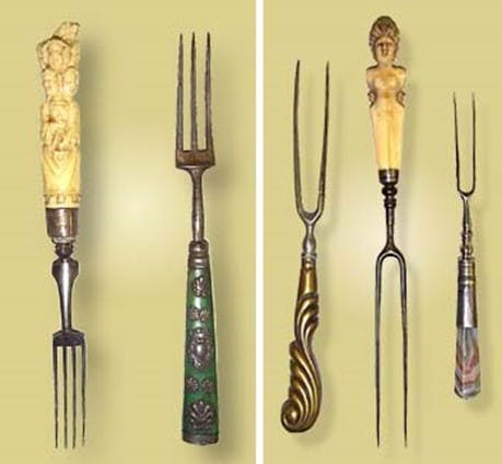 Image of tenedor 1 in Five kitchen items invented by women - Cosentino