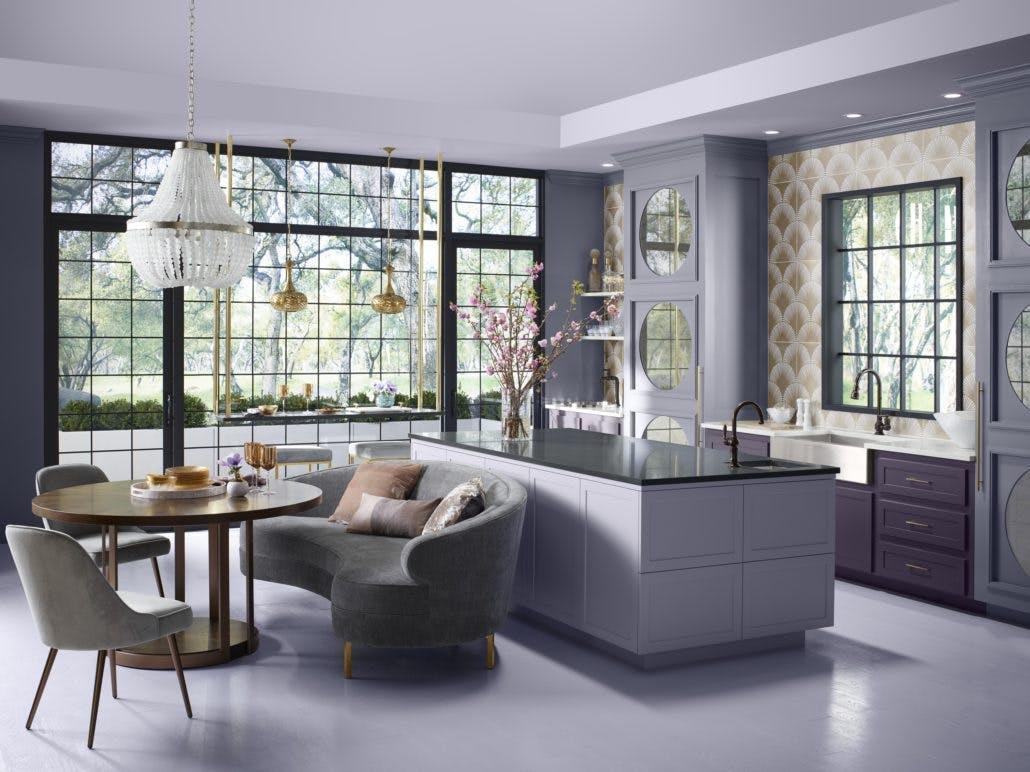 Image of zac23944 rgb 1030x772 1 1 in Denise McGaha's Lilac Kitchen - Cosentino