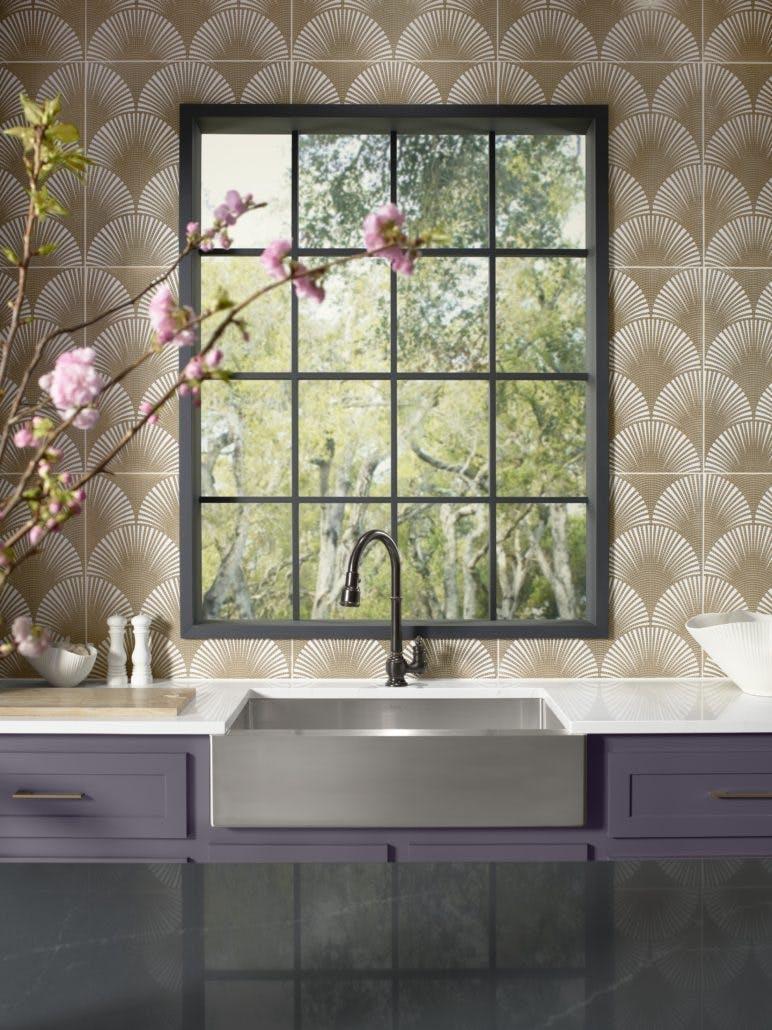 Image of zac23955 rgb 772x1030 1 1 in Denise McGaha's Lilac Kitchen - Cosentino