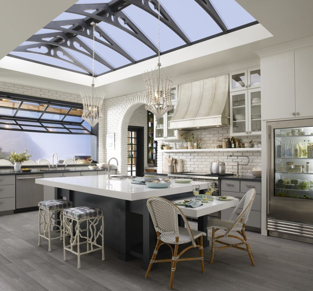 Image of zac26495 rgb 1030x955 1 1 in Cheryl Kees Clendenon's Greenhouse Kitchen - Cosentino