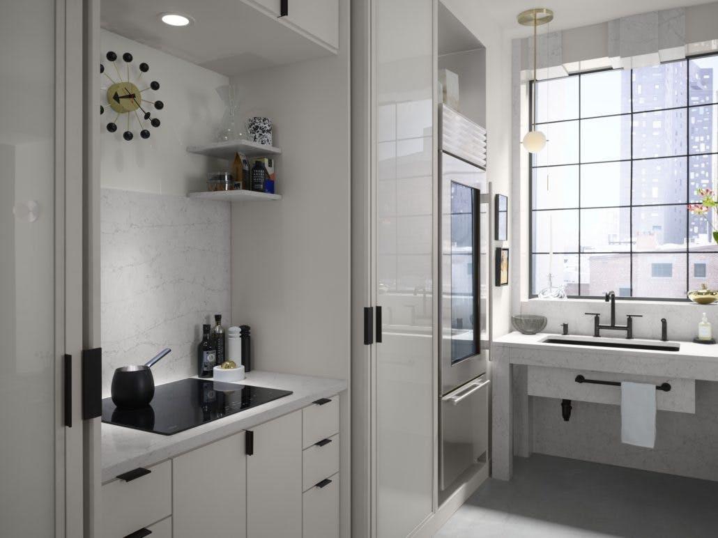 Image of zac27564 rgb 1030x772 1 1 in Silestone Trendspotter Drew McGukin's Studio Kitchen - Cosentino