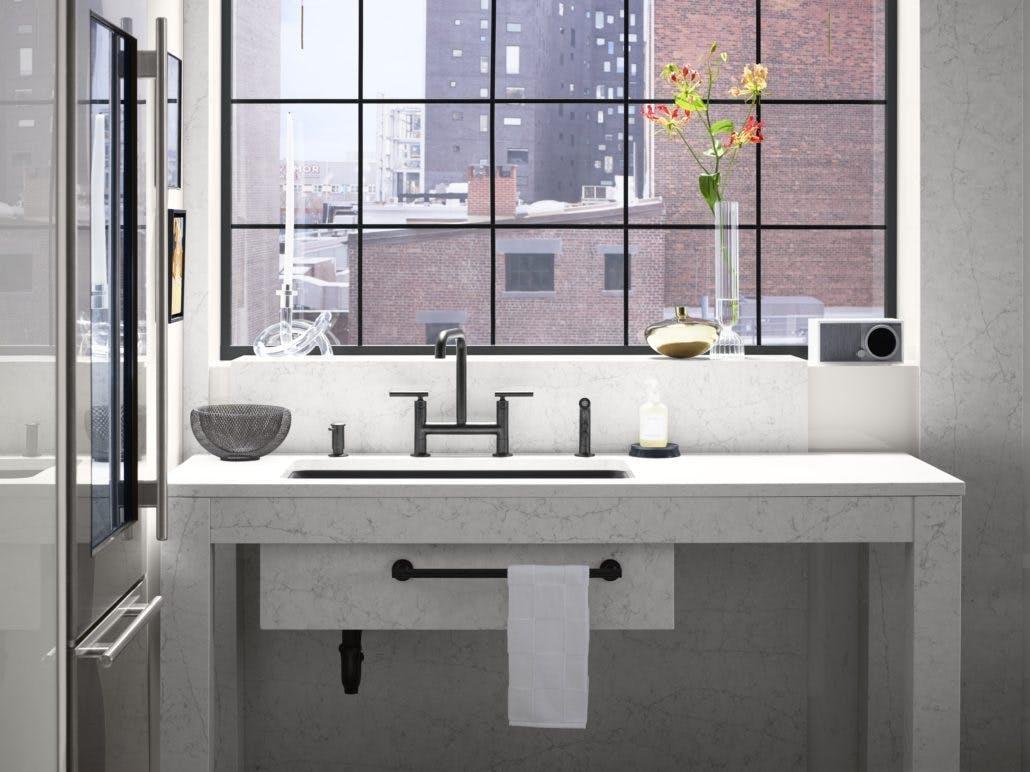 Image of zac27571 rgb 1030x772 1 1 in Silestone Trendspotter Drew McGukin's Studio Kitchen - Cosentino