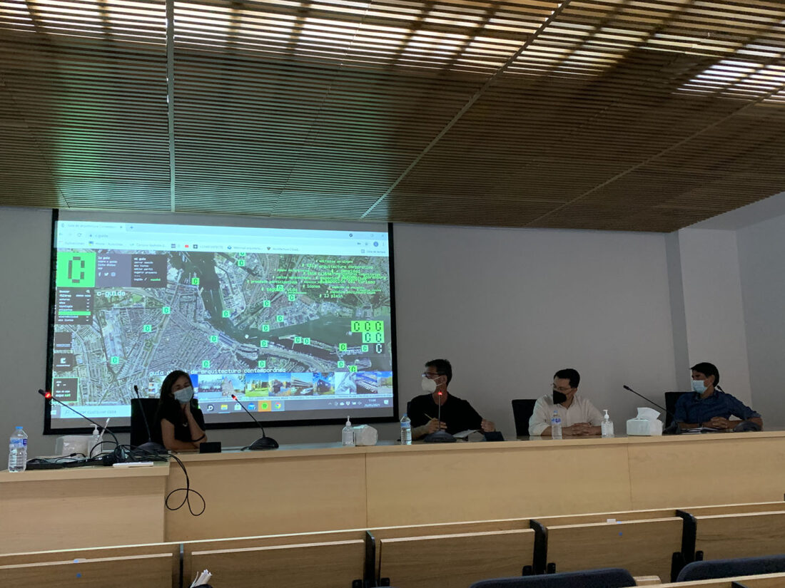 Image of Presentacion en Sevilla web in C-Guide tributes to Paulo Mendes da Rocha by including São Paulo in its network of cities - Cosentino