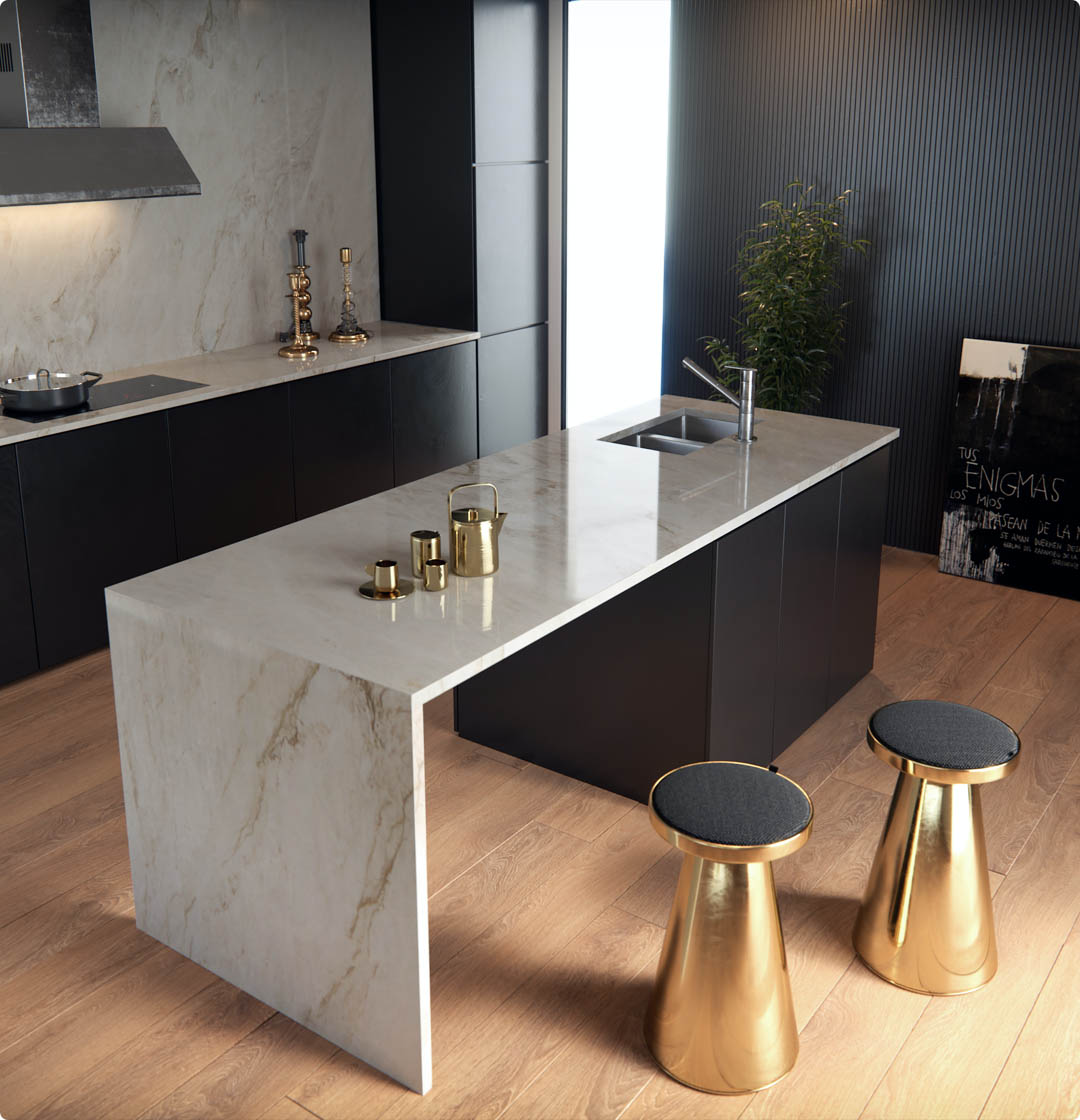 Image of encimeras sensa in Sensa | Worktops - Cosentino