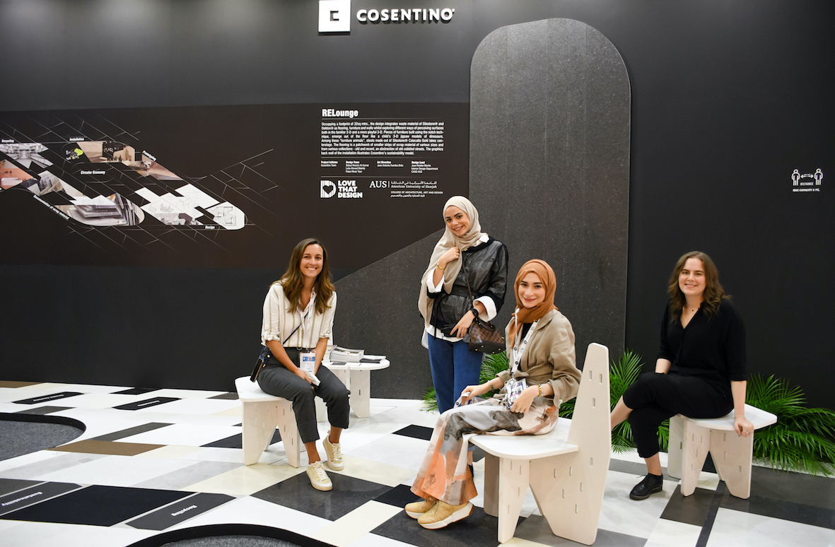 """Image of INDEX RELounge 1 in Cosentino marks presence at INDEX fair with """"RELounge"""" - Cosentino"""