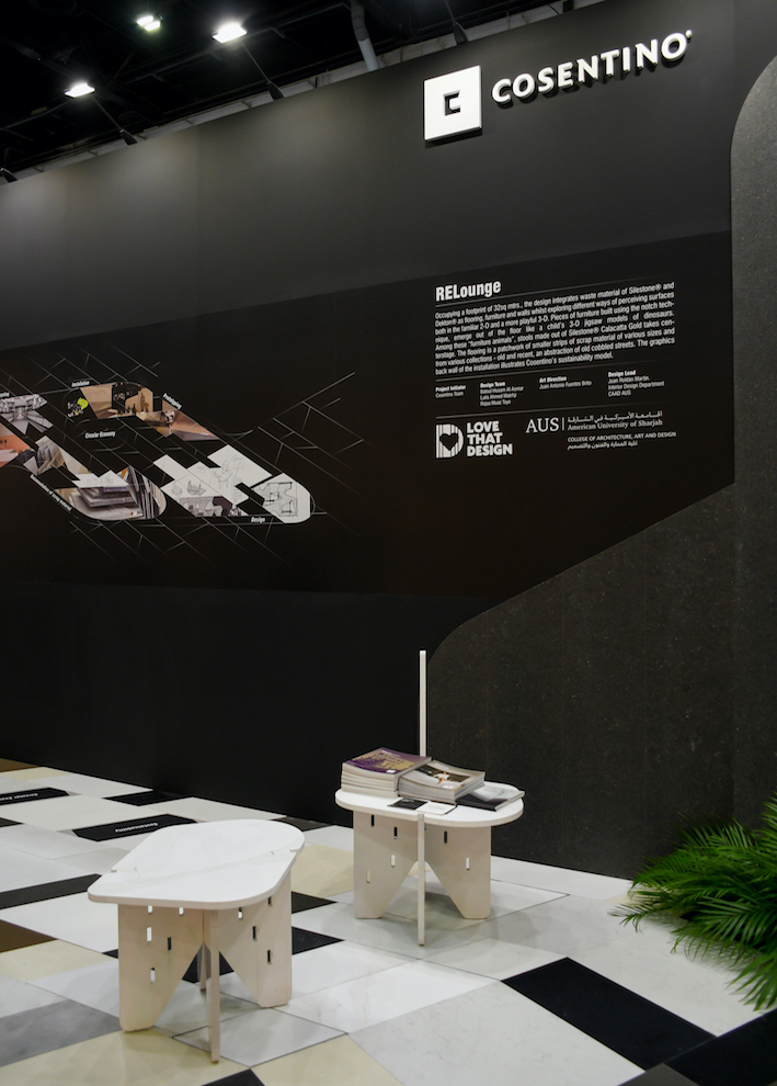 """Image of INDEX RELounge 4 in Cosentino marks presence at INDEX fair with """"RELounge"""" - Cosentino"""