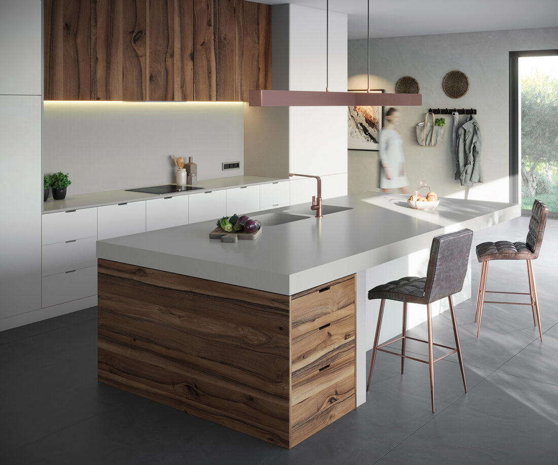 Image of Silestone Kitchen Cincel Grey web in Sunlit Days by Silestone® is here - Cosentino