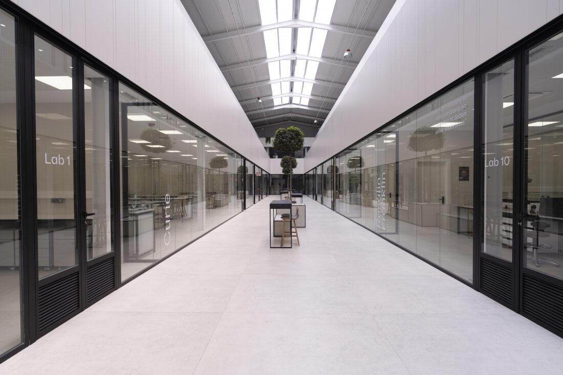 Image of Interior Centro I D Cosentino 1 in Cosentino opens its own R&D&I Centre - Cosentino