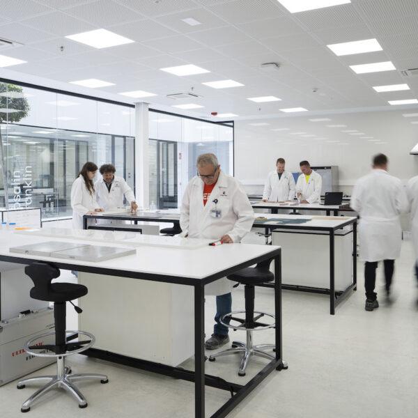 Image of Interior Laboratorio Centro I D Cosentino 2 1 in Cosentino opens its own R&D&I Centre - Cosentino