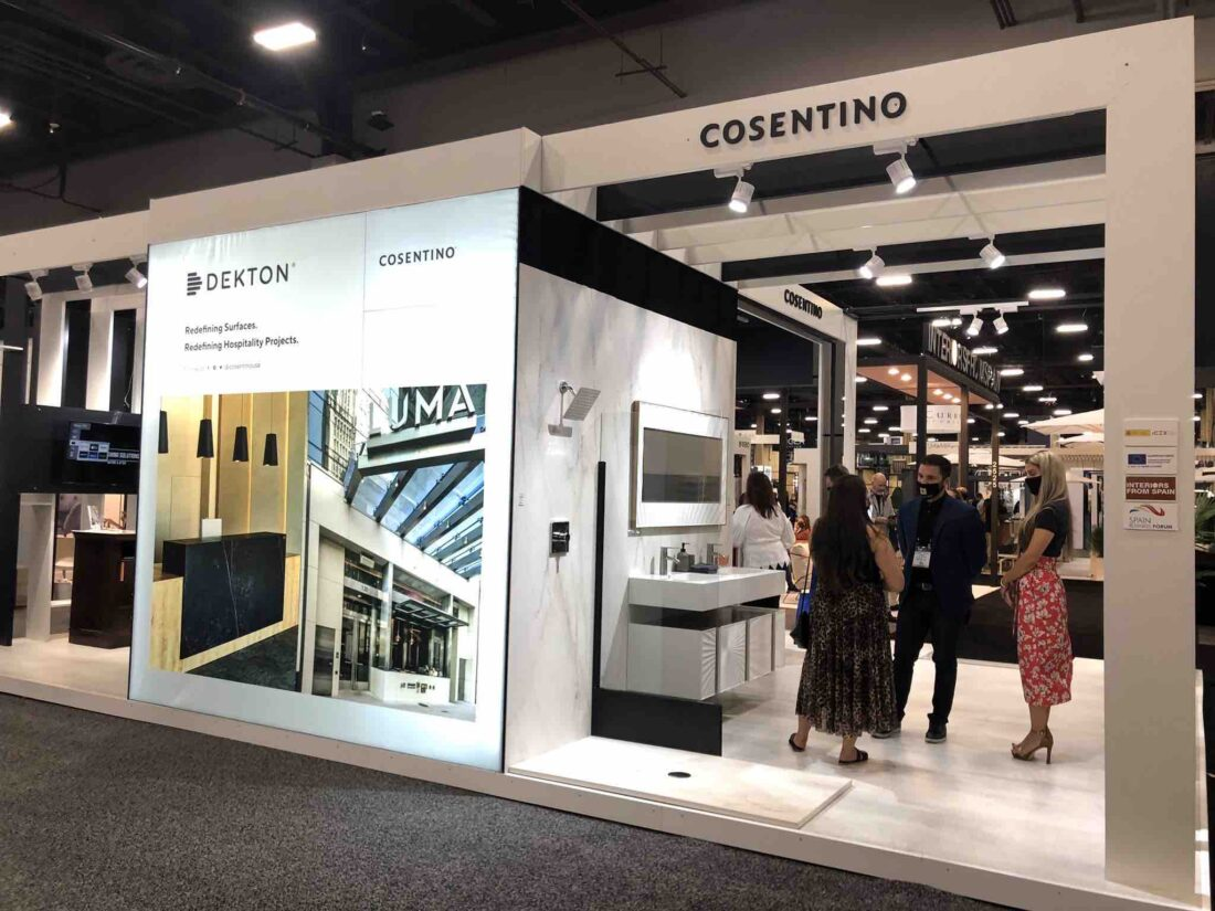 Image of Cosentino HDExpo21 Stand 2 low in Cosentino's next generation of innovations and applications took center stage at HD Expo 2021 - Cosentino