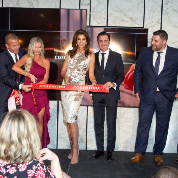 Image of Cosentino City Atlanta Ribbon in Cosentino opens new Atlanta City - Cosentino